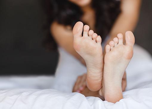 feet treated at Fitzroy Podiatry